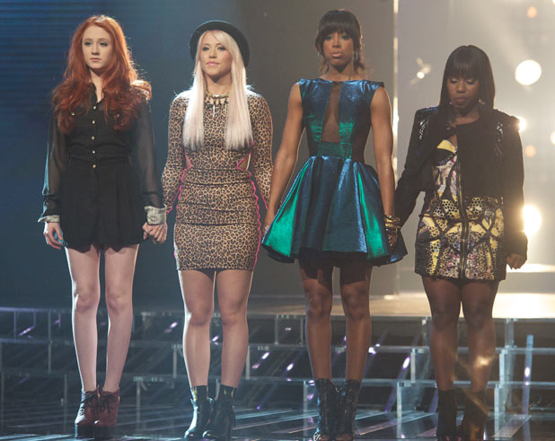 The X Factor: Kelly Rowland, Janet, Amelia Lily, Misha B