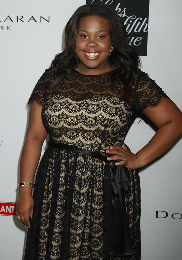 Amber Riley arrives at the 10th Annual Celebration of Dreams