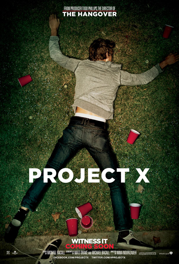 'Hangover' Todd Phillips's new comedy 'Project X' poster ...