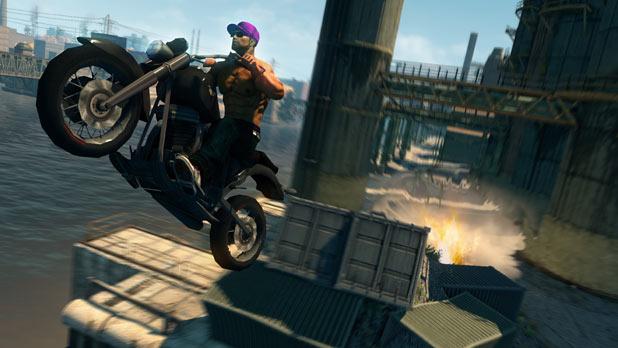 A bike jump