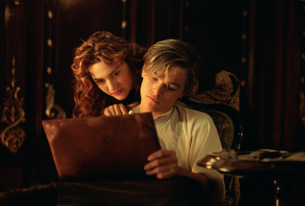 Titanic 3D re-release: Leonardo DiCaprio as Jack and Kate Winslet as Rose