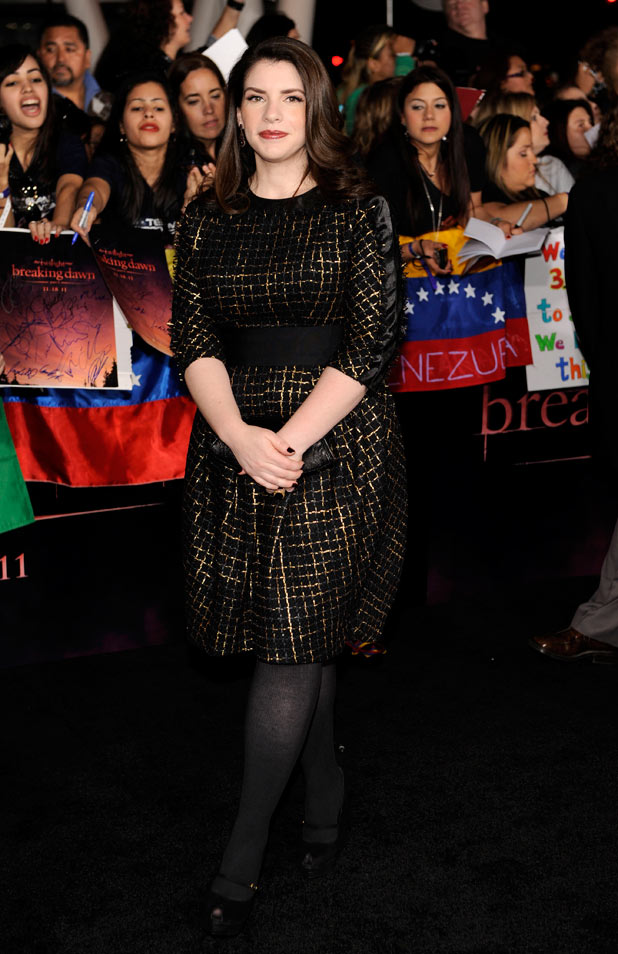 'The Twilight Saga: Breaking Dawn - Part 1' Premiere: Stephenie Meyer