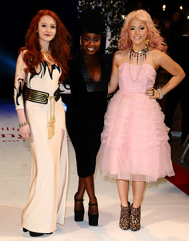 The X Factor's Janet Devlin, Misha B and Amelia Lily
