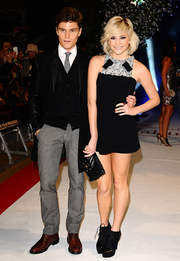 Pixie Lott and boyfriend Oliver Cheshir