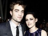 &#39;The Twilight Saga: Breaking Dawn - Part 1&#39; Premiere: Robert Pattinson and Kristen Stewart