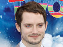 Elijah Wood says that the US will get the Hobbit trailer in front of Tintin.