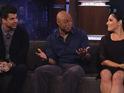 JR Martinez, Ricki Lake and Rob Kardashian assess the competition on Jimmy Kimmel Live.