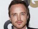 Aaron Paul meets P Diddy on the set of their new Ciroc advert.