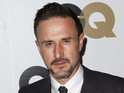 "David Arquette says that he wasn't being ""true"" to himself when he was sober."