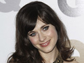 "Zooey Deschanel says it is ""special"" to be recognized at the Golden Globes."