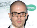 The Wanted's Max George suggests he is comfort eating while in America.