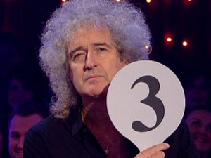 Brian May on Strictly Come Dancing