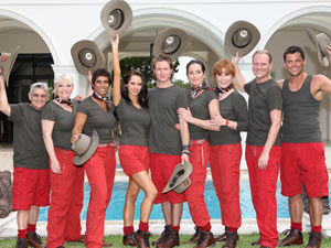 Willie Carson, Crissy Rock, Fatima Whitbread, Jessica-Jane Clement, Dougie Poynter, Lorainne Chase, Stefanie Powers, Antony Cotton and Mark Wright