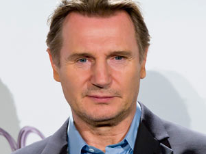 Liam Neeson at a photo call for 'The War of the Worlds'