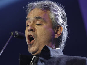 Children in Need Rocks Manchester: Andrea Bocelli