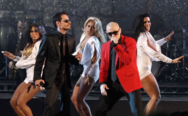 Marc Anthony and Pitbull