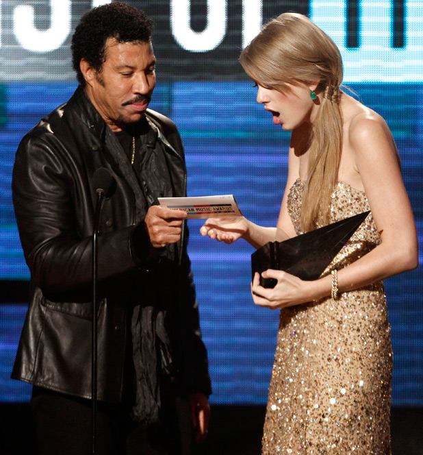 Lionel Richie and Taylor Swift