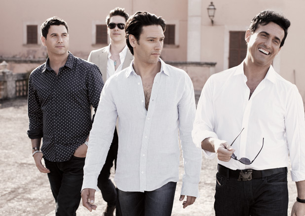 Il divo to release greatest hits album music news digital spy - Il divo songs ...