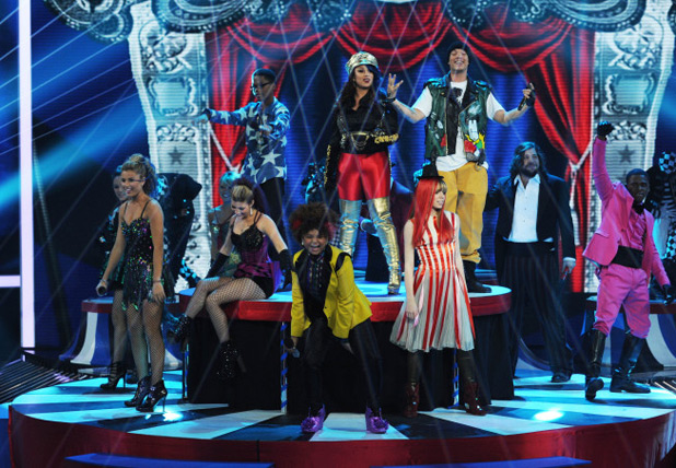 X Factor USA Top 9 results show gallery