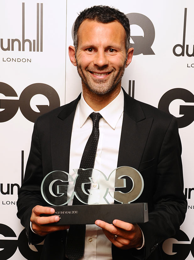 Ryan Giggs - The Manchester United footballer, who hit the headlines earlier this year, is 38 on Tuesday.  