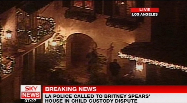 Britney Spears' LA home