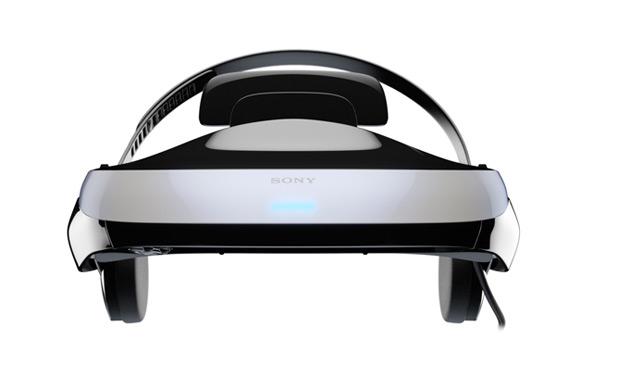 Sony 3D headset photos