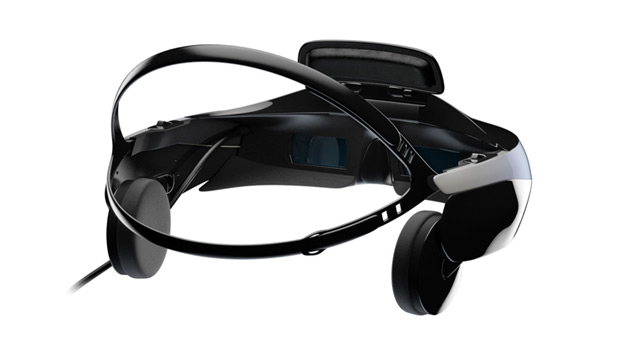 Sony 3D headset photos