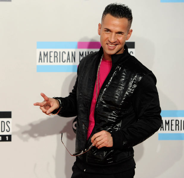 AMAs 2011 Arrivals: Michael Sorrentino aka The Situation