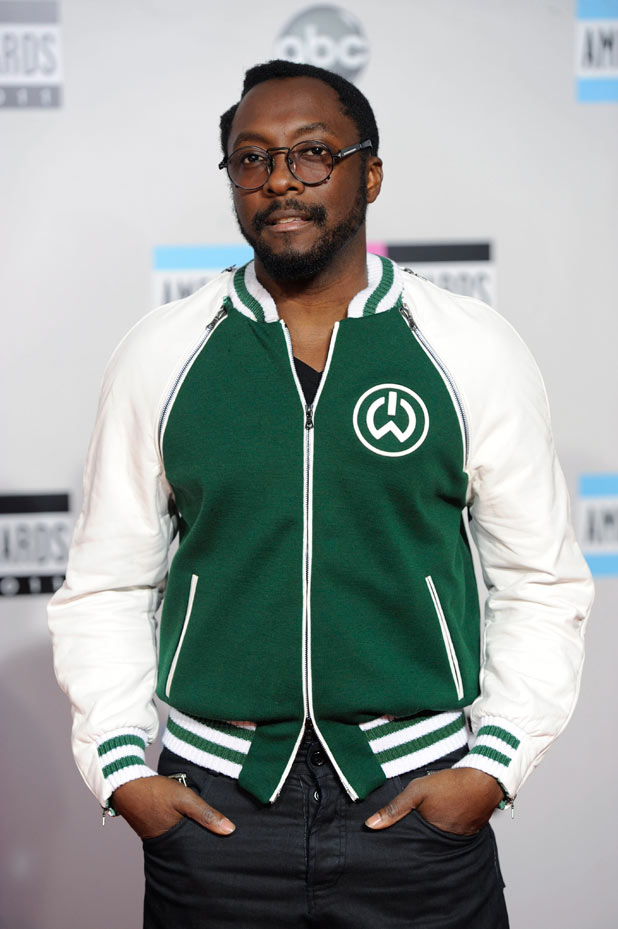 AMAs 2011 Arrivals: will.i.am