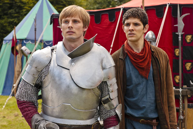 Arthur (Bradley James) , Merlin (Colin Morgan)
