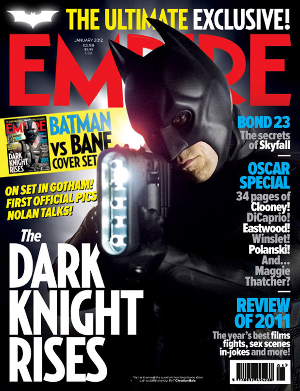 The Dark Knight Rises: Batman Empire cover