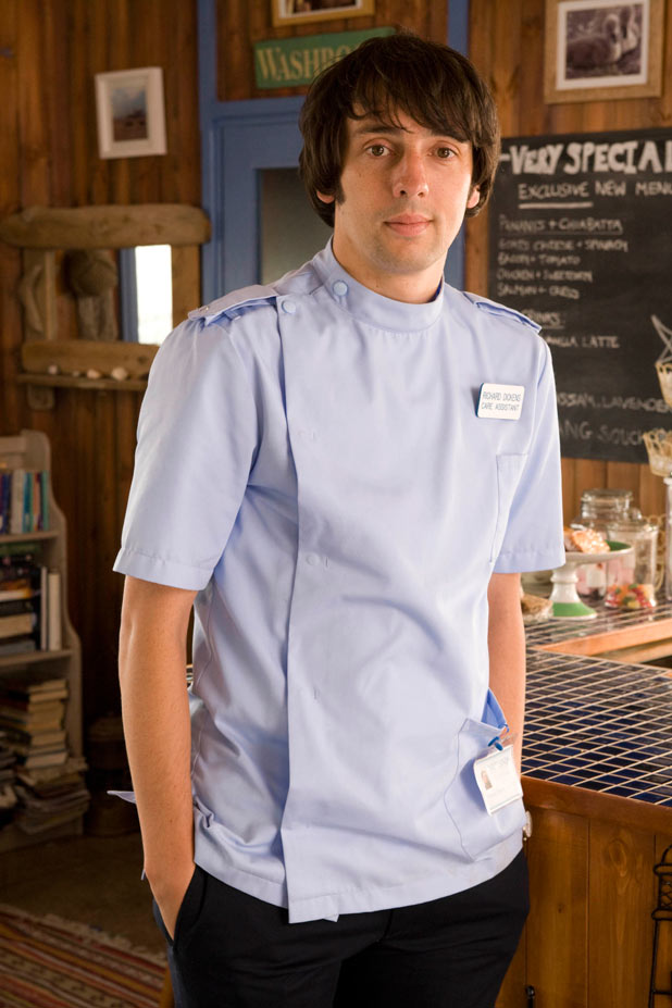 Ralf Little in Sky 1&#39;s &#39;The Cafe&#39;