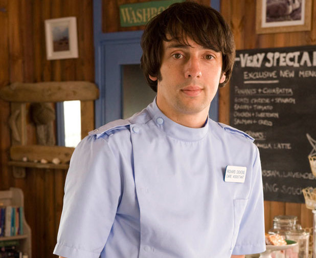 Ralf Little in Sky 1's 'The Cafe'