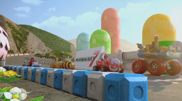 Mario Kart 7 live action trailer