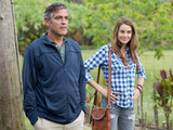 George Clooney and Shailene Woodley