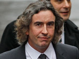 Steve Coogan arrives to testify at the Leveson inquiry