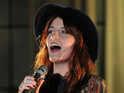 Florence Welch has yet to see Katy Perry's impersonation of her on SNL.
