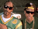 The rappers preview their new movie in their latest music video.