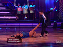The reality star and Cheryl Burke got their first perfect score in the finale.