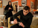 Peter's struggle with alcohol makes Coronation Street Friday's most-watched soap.