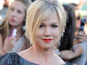 "Jennie Garth admits that divorce was ""sad for [her] family unit""."