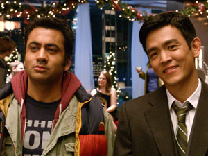Kal Penn and John Cho in 'A Very Harold & Kumar 3D Christmas'