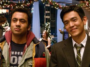 Kal Penn and John Cho in 'A Very Harold & Kumar 3D Christmas'