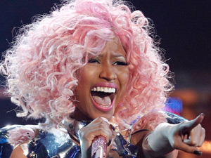 Nicki Minaj performs at the 39th Annual American Music Awards