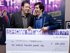Jason Manford and Patrick Monahan
