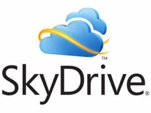 Microsoft Skydrive logo
