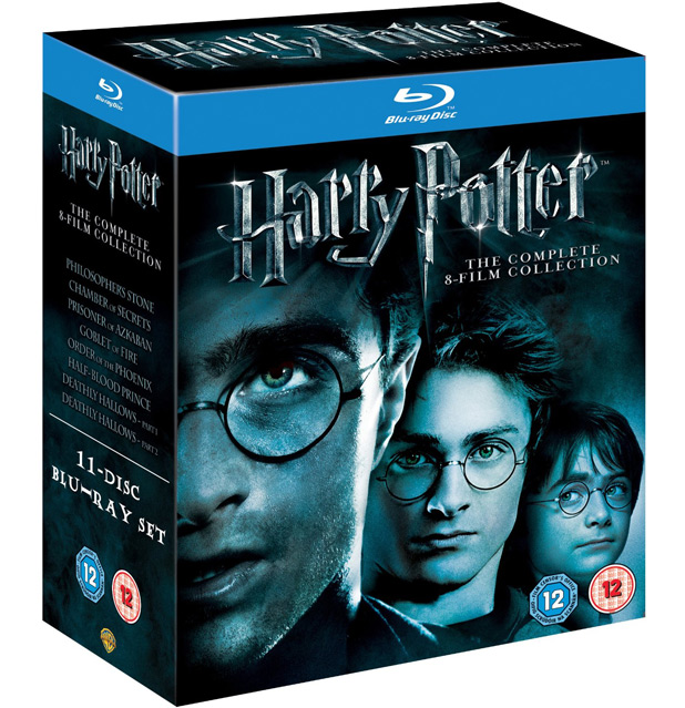 'Harry Potter': The Complete 8-Film Blu-ray Collection