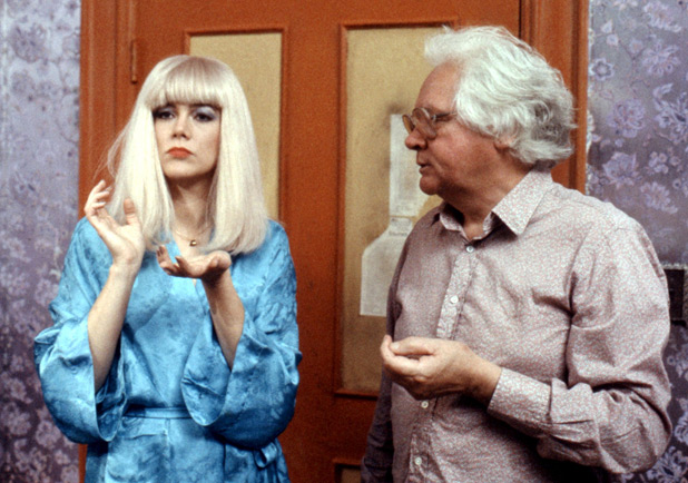Ken Russell and Kathleen Turner