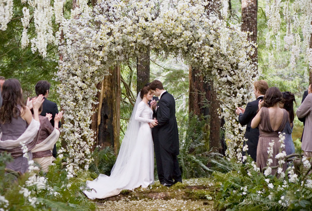 Edward and Bella get married
