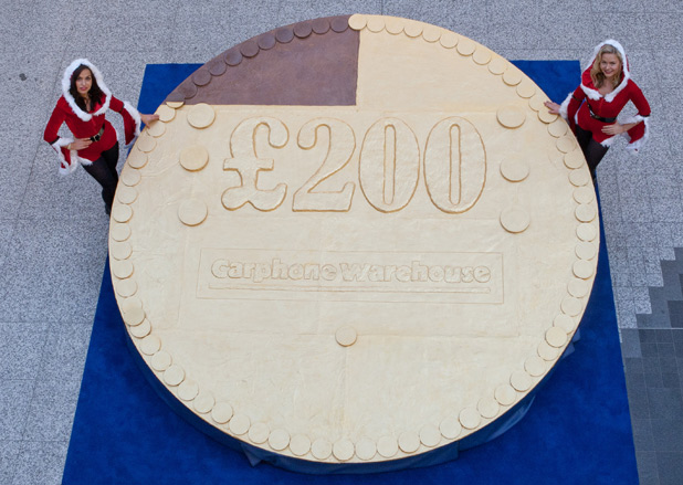 world's largest chocolate coin